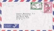 2089. Carta Aerea LIMA (Peru) 1963 A Estados Unidos - Pérou