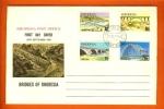 RHODESIA 1969 Mint FDC Bridges 84-87 F1267 - Bridges