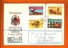 RHODESIA 1970 FDC With Address Post,Telegraph,Telephone 102-05 F1236 - Rhodesia (1964-1980)