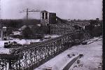 OTTMARSHEIM CONSTRUCTION 1951 AVEC UNE LOCOMOTIVE EN BAS - Ottmarsheim