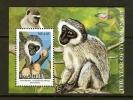 NAMIBIA 2004 Mint Never Hinged Sheet Year Of The Monkey Sa441ms - Monkeys