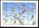 MINT NEVER HINGED MINI SHEET OF BIRDS   #   M-286-1  ( GEORGIA   9509 - Birds