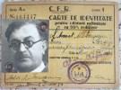 CFR- ROMANIAN RAILWAYS LEGITIMATION,1943 - Europe