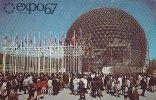 CANADA - AK 80810 Montréal - Expo67 - Le Pavillion Des Etas-Unis - Montreal