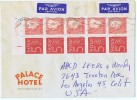 1961Air Mail Letter To USA Franked With Facit Booklet HA 5 - Booklets