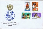 1974   WHO 25th Anniversary   Unaddressed FDC  Some Toning Rare - Zambia (1965-...)