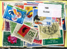 Lot 100 Timbres Suisse - Vrac (max 999 Timbres)