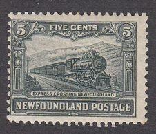Newfoundland 1928  5c    SG168   MH - 1908-1947
