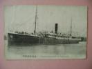 CP   PAQUEBOT  DOUKKALA - ECRITE EN 1920 - Steamers