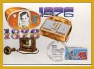"""CM N° 1905 """" 1° Liaison Téléphonique """" CAD De PARIS  Du 25 Sept 1976 En Parfait état ! + Prix Dégressif."""