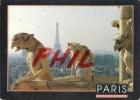 Paris - Vue Depuis Notre Dame, Ref 1108-540/41 - Notre Dame De Paris