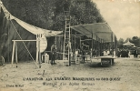 Aviation Aux Grandes Manoeuvres Du Sud Ouest : Montage D'un Biplan Farman. 2 Scans. Edition Rol - Manovre