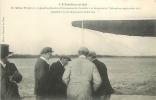 Wilbur WRIGHT écoute La Commission De Contrôle, 1908. 2 Scans. Edition Bouveret Le Mans - Aviatori