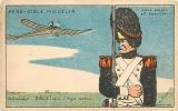 AERO CIBLE MICHELIN : Le Grenadier Et Le Retour De L'Aigle Par Le Gourvil. 2 Scans. - Non Classés