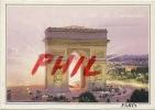 Paris, La Nuit - Feu D´artifice Sur L´Arc De Triomphe, Ref 1108-559 - Arc De Triomphe