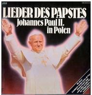 * LP *  LIEDER DES PAPSTES - JOHANNES PAUL II IN POLEN (Germany 1979 Ex-!!!) - Gospel En Religie
