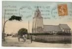 BERCK-VILLE  -  L'Eglise. Attelage Beau Plan. - Berck