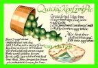 RECIPES - RECETTE -  QUICKIE KEY LIME PIE - - Recettes (cuisine)