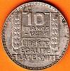 PIECE MONNAIE 10 FRANCS 1932  - GRAVEUR TURIN  - ARGENT  - 3ième REPUBLIQUE 1871 - 1940 VOIR LES SCANS... - France