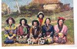 TURQUIE - Un Groupe D´AINOS - Japon