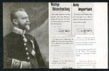 CPA. MILITAIRE PATRIOTIQUE. GUERRE EUROPÉENNE 1914. UNE COURAGEUSE AFFICHE DE M. MAX..... - Patriotiques