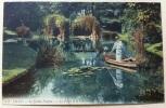 Lille - Le Jardin Vauban - La Grotte Et Le Lac (colorée, 1905) - Lille