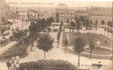 """87 LIMOGES BELLE CPA 1915  """"SQUARE JOURDAIN ET AVENUE DE LA GARE (TRAMWAY) - Limoges"""