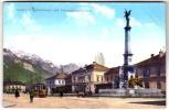 Austria \ Österreich -  Innsbruck, Südbahnhof Mit Vereinigungsbrunnen -  Postcard \ Postkarte 1918 - Austria