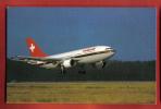 J128 Swissair Airbus A-310.Non Circulé. - Avions