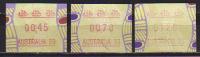 Australie. PhilExpo 99.  ATM/Frama Emis A L´occasion De L´Exposition Philatelique Internationale. 3 T-p Neufs ** - ATM - Frama (vignette)
