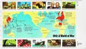 USA 1972 / 81 + 2099 / 08 + 2168 / 77 + 2242 / 51 + 2406 / 15 La Seconde Guerre Mondiale / Les 5 Feuilles Complètes - Sheets