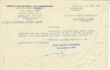 FACTURE 1959...Banque Crédit Industriel De Normandie, Rue Des Jacobins à CAEN (14) - France
