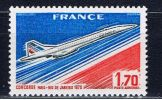 F Frankreich 1976 Mi 1951 Mnh Concorde - France