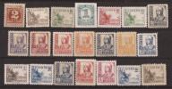 ES814-L3998.España Spain Espagne CIFRAS, CID E ISABEL 1937-1940 (Ed 814/31**)sin Charnela.MAGNIFICA - 1931-50 Nuevos & Fijasellos