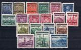 Böhmen Und Mähren Mi.Nr.1-19* Ungebraucht / MH  (17831) - Occupation 1938-45