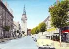 JARNY -- La Rue Pasteur Et L,église St- Martin   (  La  Dyna Panhard ) - Jarny