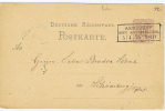 Germany, Postkarte  1875 , 5 Pf. Arnsdorf -> Lihomberg (?) - Germania