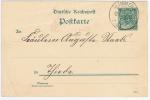 Germany, Reichpost  Postcarte 5 Pf   1891, Druckdatum 991a - Germania
