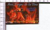 CARTONNETTE PUBLICITAIRE  -  Aux FORGES De La TINE  -  Millau - Placas De Cartón