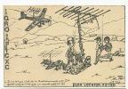 Jurançon Carte QSL Radio Amateur Comique Avion Dessin Jacky Tramson