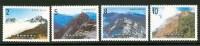 1986 Taiwan Paesaggi Landscapes Mic.1674/77 Set MNH** Tw30 - Géologie