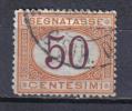 SS6275 - REGNO 1890 , Segnatasse 50 Cent N. 25 - 1878-00 Humberto I