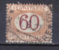SS6276 - REGNO 1890 , Segnatasse 60 Cent N. 26 - 1878-00 Humberto I