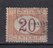 SS6231 - REGNO 1890 , Segnatasse 20  Cent  N. 22 - 1878-00 Humberto I