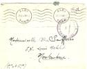 REF LBR 31 - LETTRE EN FM ALBI / MONTAUBAN 23/10/1940 CACHET DE VAGUEMESTRE - Postmark Collection (Covers)