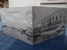 CPA Double Panoramique Venezia Palazzo Ducale E Chiesa Della Salute 1909 Carte Double- LA - Venezia