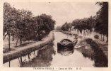 88 Thaon -les-Vosges Canal De L'Est Animée Peniche - Thaon Les Vosges