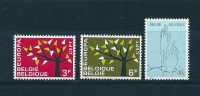 Belgique Timbres Neufs  **  De 1962 N°1222 A 1224 - Nuevos