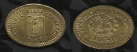 FEDERATION DU COMMERCE DU CALAISIS . 25 C . 1920 . - Monetari / Di Necessità