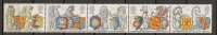 UK - 1998 Order Of The Garter  - SG 2026/2030 - Yvert 2022/6 - MINT NH Strip Of 5 - Sin Clasificación
